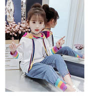 Girl's suit Spring and Autumn fashion 2PCS set