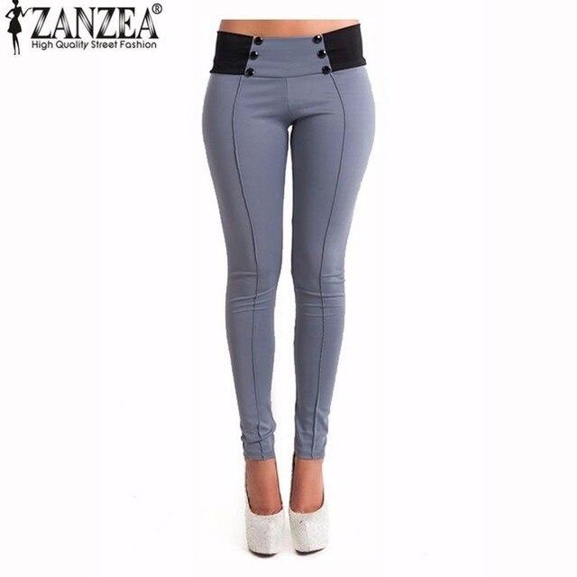 Automne 2018 Vintage Slim Femmes Pantalon Sexy Casual Skinny Crayon Pantalon  Pieds Moulante Leggings Dames Taille 989fb9a415d