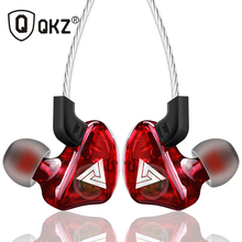 Спортивные наушники QKZ CK5, стереонаушники для мобильного телефона, гарнитура для бега, dj с HD микрофоном, наушники, наушники