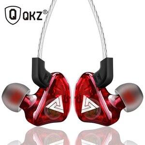 Image 1 - Qkz ck5 이어폰 스포츠 이어 버드 스테레오 모바일 핸드폰 용 헤드셋 dj hd 마이크 장착 fone de ouvido auriculares audifonos