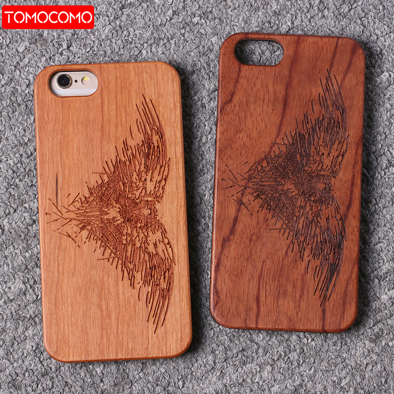 TOMOCOMO Real Bamboo Wood Case For iPhone 7 6Plus Case For iPhone8 Plus Coque Phone Accessories For SAMSUNG S8 S9 Plus Cover