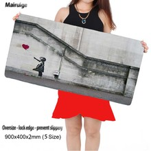 Mairuige Shop Free Shipping Locking Edge Large Gaming Anime Mouse Pad Pad for PC Computer L