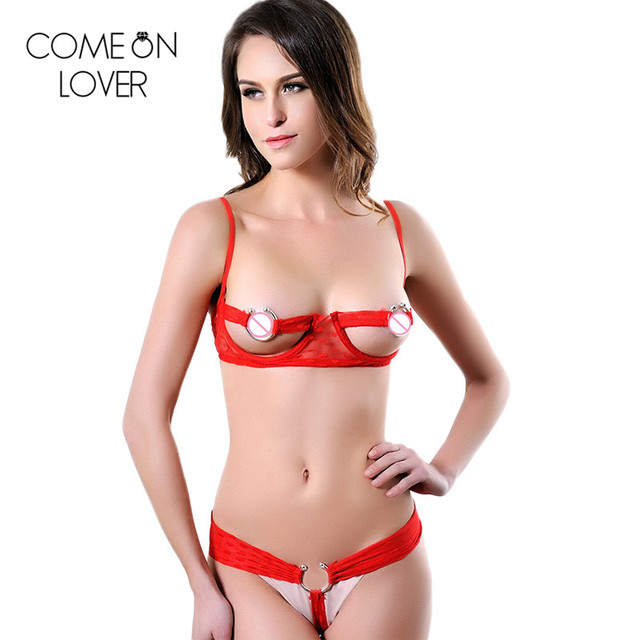 c1fbba751 RE70081 شحن مجاني أسود أبيض أحمر مثير الصدرية مجموعة الجملة عالية الجودة  المفتوحة النساء الصدرية مجموعة