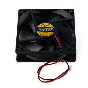 Image 3 - 2 Pin 12V 90*90*25mm laptopy akcesoria zamienne wentylatory chłodzące dla komputer przenośny wentylatory P0.11