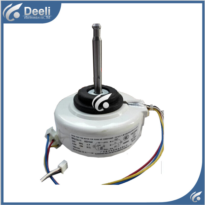100% new good working for air conditioner inner machine motor (22V) RPG15A-11 Motor fan ups ems dhl 95% new good working for air conditioner inner machine motor fan ydk50 8g 3 7 line
