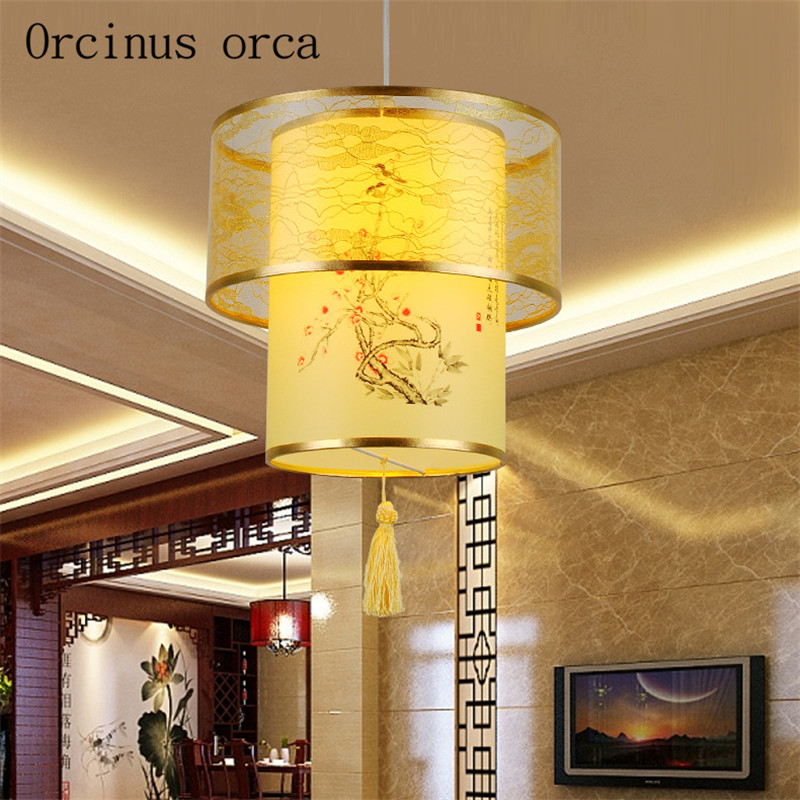 Chinese classical sheepskin small pendant antique decorative lantern lantern restaurant corridor tea lightsChinese classical sheepskin small pendant antique decorative lantern lantern restaurant corridor tea lights