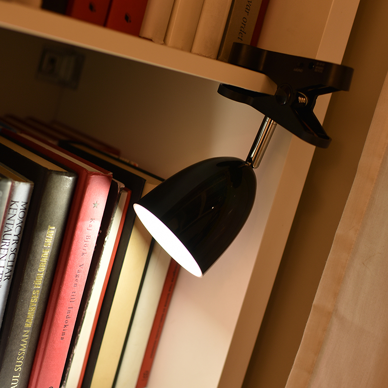 Super Bright Led Clip Lamp Clamp On Desk Table Bunk Bed Book