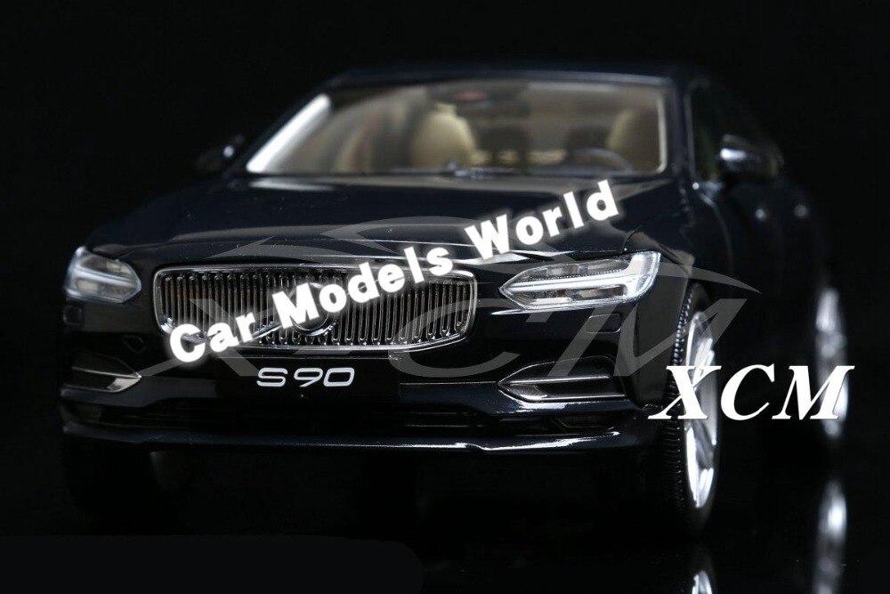 ¡Modelo de coche fundido para S90 1:18 (negro) + pequeño regalo!-in Troquelado y vehículos de juguete from Juguetes y pasatiempos    1