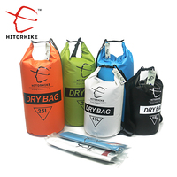 HITORHIKE 15л/25л Водонепроницаемая сухая сумка для наружного плавания кемпинга для хранения при сплаве сумка с регулируемыми ремнями 5 цветов