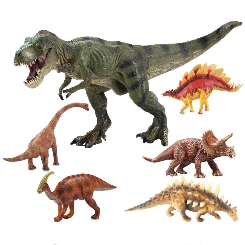Jurassic Period Tyrannosaurus Rex Dinosaur Plastic Toy Model Christmas Xmas Gift