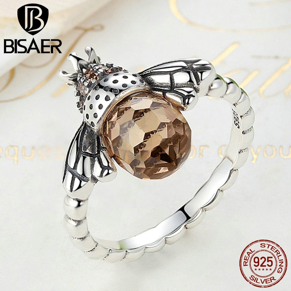 5ab01602989e Genuino 100% plata esterlina 925 naranja ala Animal anillo de dedo para  mujer de plata auténtica de GXR025 en Anillos de Joyería y accesorios en ...