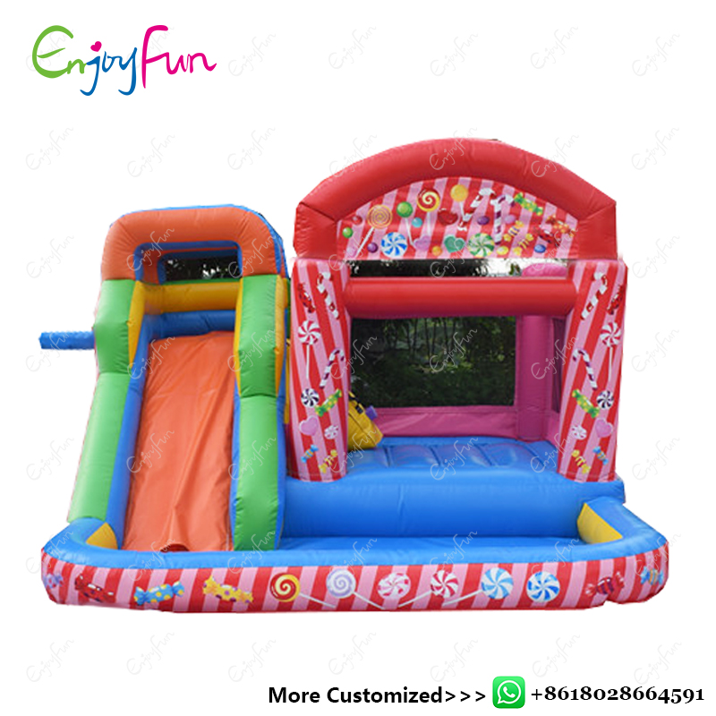 ENJOYFUN Inflatable jumping castle Gonfiabile Inflatable bouncy castle Inflable bounce house Chirstmas toys for kids #IB1005 hot sale bounce house inflatable jumping trampoline for kids party bouncy castle with slide