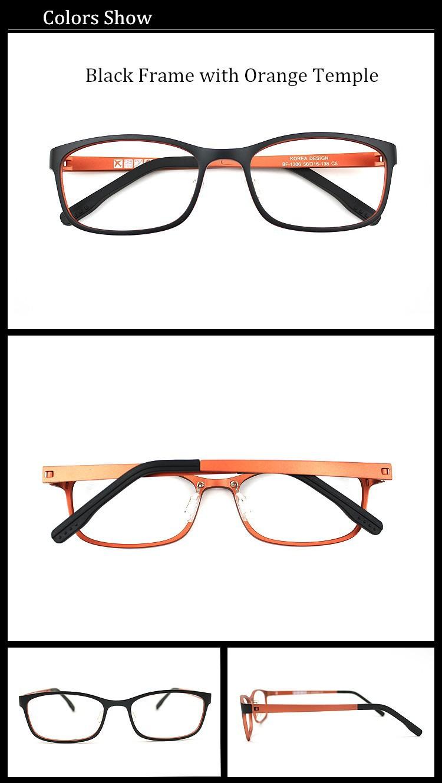 097b805dfef029 Top Kwaliteit Ultem Brilmonturen Fashion Design Zwart Rood Optische  Brilmontuur voor Vrouwen en Mannen