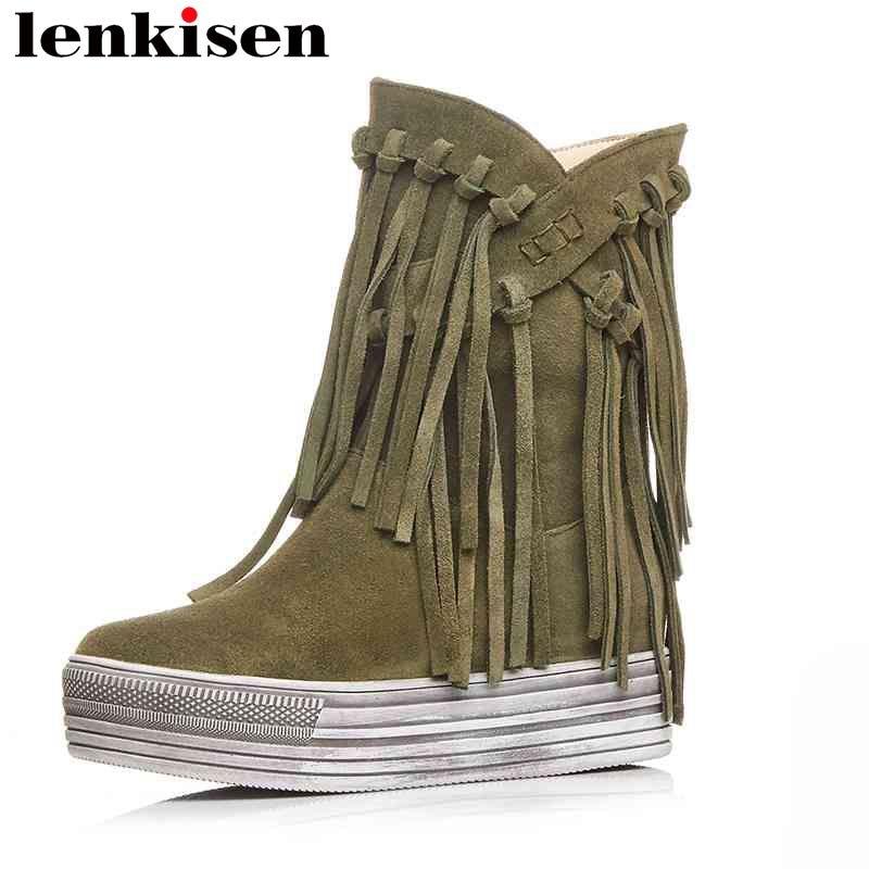 5e87b433 Compra ankle boots korean leather y disfruta del envío gratuito en  AliExpress.com