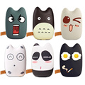 Portable Power Bank 9000mAh Universal Cute Emoji powerbank 18650 Battery Charger For Mobile Phones For iphone ipad