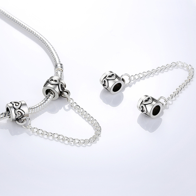 Pandora Style High Quality Safety Chain