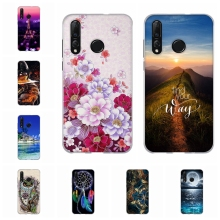 For Huawei nova 4 Cover Ultra-thin Soft TPU Silicone Nova Case Girl Patterned nova4 Coque Bag