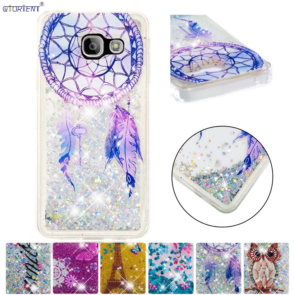 Phone Bags & Cases Radient Bling Glitter Case For Samsung Galaxy A3 2016 Dynamic Quicksand Liquid Fitted Cover Sm-a310f/ds Sm-a310x Silicone Phone Cases