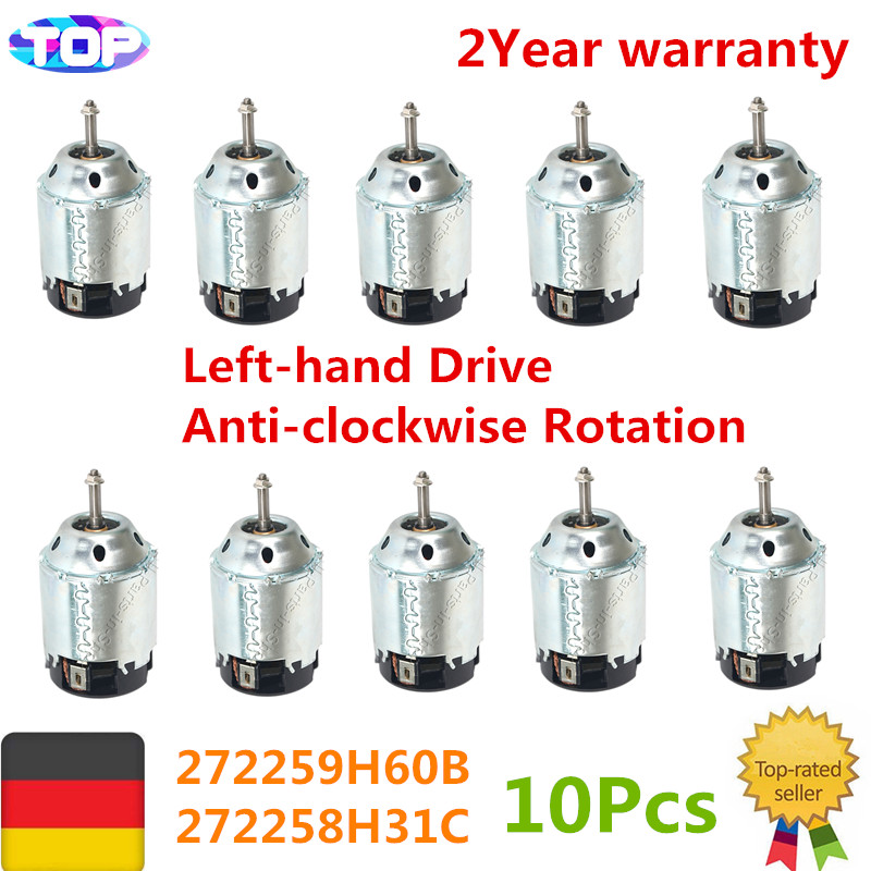 10 pcs LHD Heater Blower Motor for Nissan X-TRAIL T30 Maxima 2001-2007 272259H60B, 272258H31C,272258H90B,2725595F0A,27226EA010 цена