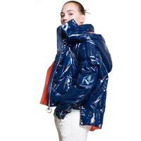 European Winter   Coat   2018 New Brand Women Keep Warm Thicken 90% White Duck   Down   Jacket Hat Detachable Large Size   Down     Coat   ZS381