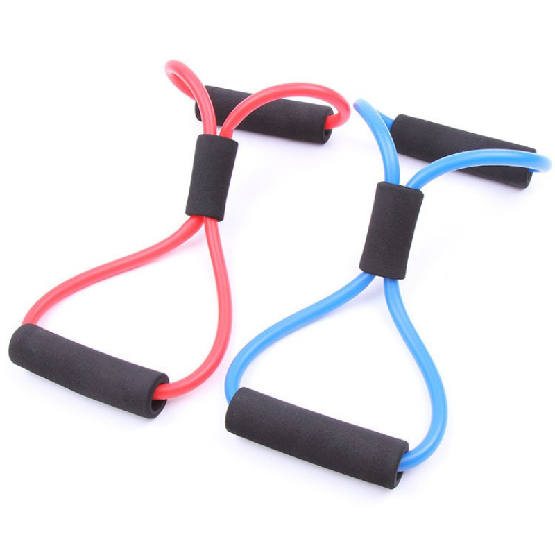 1PC Outdoor Sport Strength Elastic Tube Resistance Training Bands ...