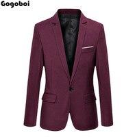 Nowy Hot Sprzedaż Nowe Stylowe Topy męska Casual Slim Fit One Button Formalnym Garnitur Blazer Płaszcz Kurtka
