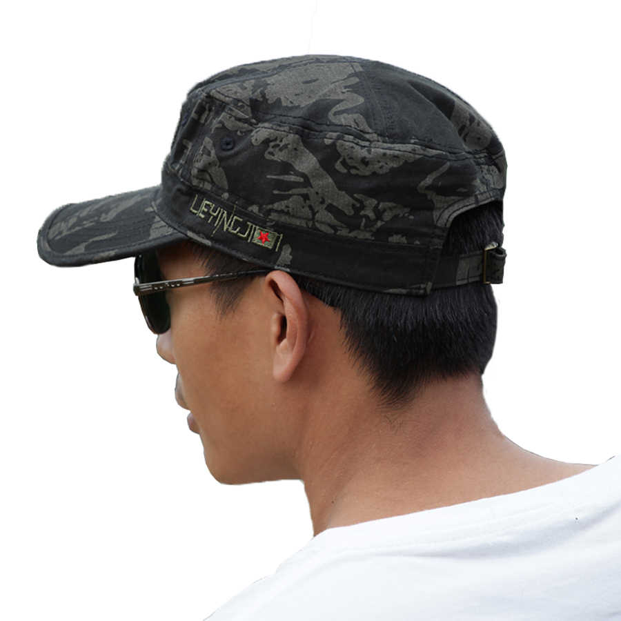 bb1f163c ... 2016 Handsome Military Hat Falcon Base Chapeau Militaire Army Black  Camouflage Cap Hats For Men Military ...