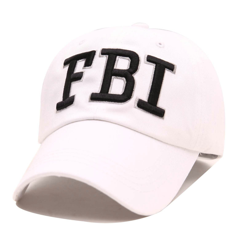 3d95eaf4436b7 High Quality FBI Caps 5 Panel Outdoor Snapback Cap Men Women 3D Embroidery  Logo Baseball Hat Unisex Brand Dad Hats YY213-in Baseball Caps from Apparel  ...