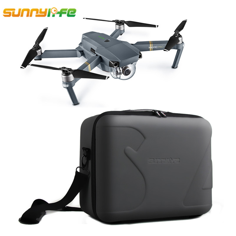 Sunnylife DJI MAVIC Pro Bag Protective Storage Suitcase Shoulder Bag Carrying Box Drone Case for DJI