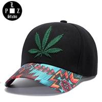 PLZ New Men S Baseball Cap Embroidery Hemp Hat 2018 Brand New Desige Flower Sun Hat