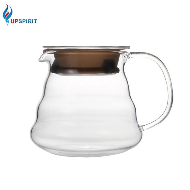 Upspirit High Boron Gl 250ml 360ml 600ml Coffee Server Replacement Pot Kitchen Drinkware