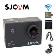 Original SJ4000 SJCAM Plus WiFi 2 K Gyro 1080 P 60FPS Se Divierte La Cámara + Extra 1 unids batería + Cargador de batería + Cargador de Coche + Soporte