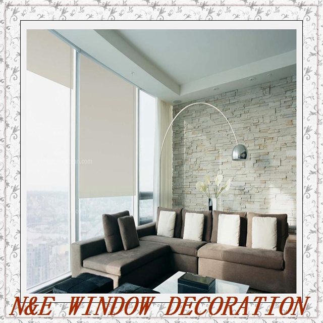 Free Shipping High  Quality Livingroom/office Window Blinds 100% Blackout Roller  Blinds Customized