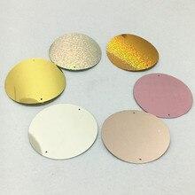 15 шт. большие блестки 8 см ПВХ плоские круглые свободные блестки для шитья с 2 отверстиями Подвески для штор аксессуары диаметр 80 мм