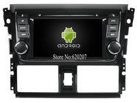 S160 Android 4 4 4 CAR GPS DVD Player FOR TOYOTA YARIS VIOS 2014 Car Audio
