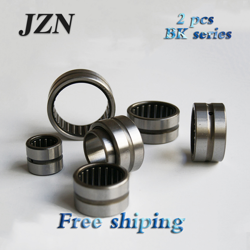 !  2PCS NK6/10 NK06/10 6*12*10mm No Inner Needle Roller Bearings
