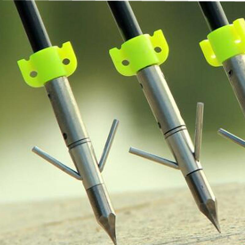3pcs Archery Fishing Arrow Catapult Dart Arrow Head  Shooting Diameter 8mm Arrows Arrowheads Hunting  Tips Fishing Tool