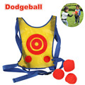 Outdoor Kids Funny Easy Target Throwing Game Dodgeball Vest Dodgeball Dart Children Interactive Educational Toy for Kindergarten