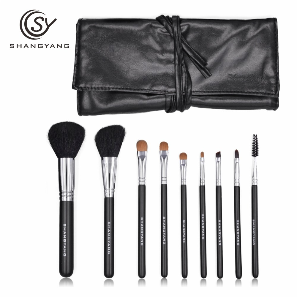 sy Makeup Brushes Eyeshadow Tools Make-up Toiletry Kit Brand Make Up Brush Set pincel maleta de maquiagem top quality тушь make up factory make up factory ma120lwhdr04