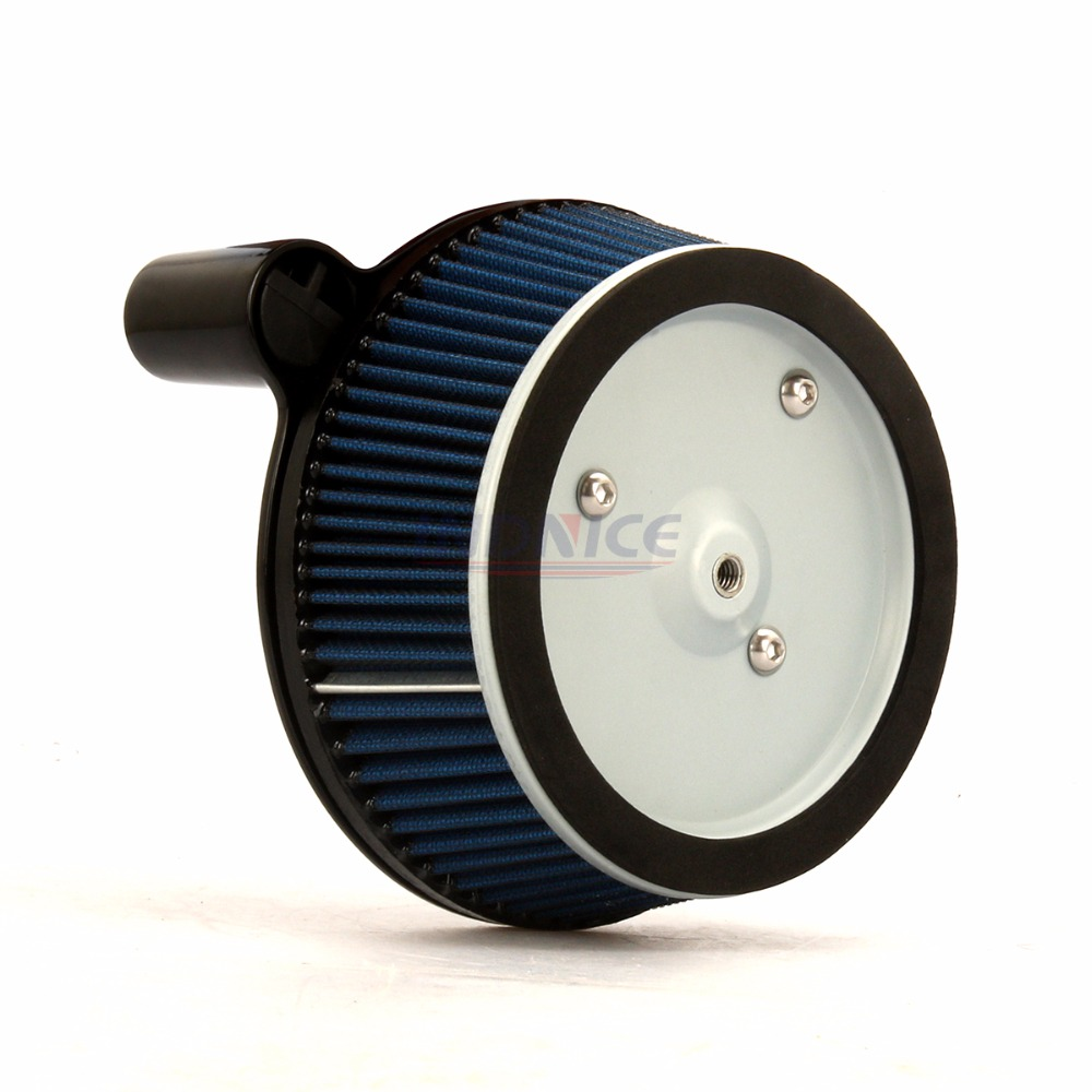 Air Cleaner System For Harley Dyna 2000 2017 Big Sucker Stage I Air Filter Kit for Softail 2000 2015 , Touring 00 2007