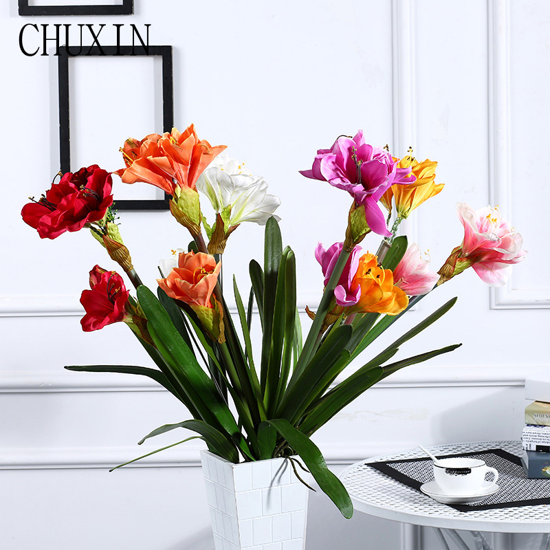 Beauty Orchid Artificial Flowers High Quality Silk Fake