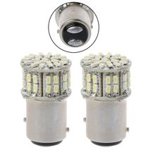 2pcs Turn Signal LED Lights 1157 BAY15D Tail Light Brake Parking Lamp SMD 3014 6000K
