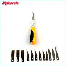 скальпель ножи 12 Шт Лезвия/Набор кухонный нож лезвие Легированной