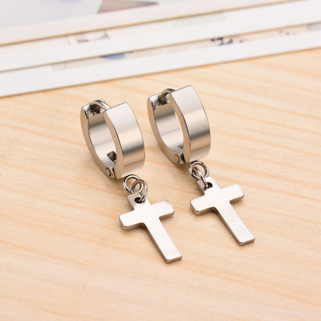 Pop Punk Stainless Steel Cross Earrings For Men Women Best Friend Party Birthday Heart Moon Star.jpg 640x640 - Pop Punk Stainless Steel Cross Earrings For Men Women Best Friend Party Birthday Heart Moon Star Drop Earring Tassel Jewelry