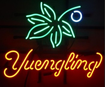 Custom YUENGLING Glass Neon Light Sign Beer Bar
