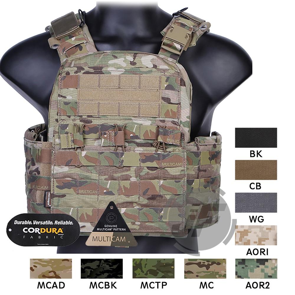 Emerson CAGE plaque transporteur CPC gilet EmersonGear tactique MOLLE réglable gilet d'urgence Doffing polyvalent armure gilet