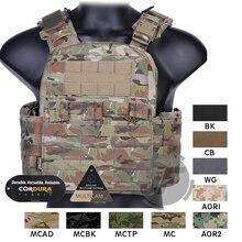 Emerson gilet CPC CAGE porte plaques, gilet tactique MOLLE ajustable, gilet de protection polyvalent pour urgence