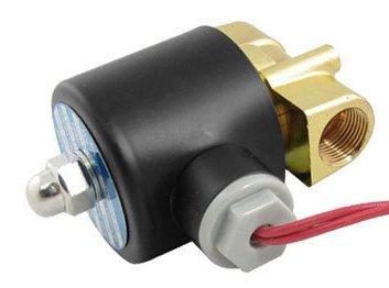 5 шт. DC 24 V 2 Way 2 позиционный Пневматический электромагнитный клапан 2W-040-10 N/C газовый водяной воздух