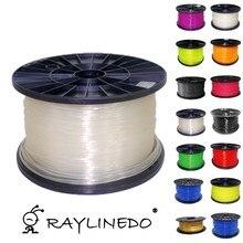 Transparent Color 1Kilo/2.2Lb Quality PLA 1.75mm 3D Printer Filament 3D Printing Pen Materials