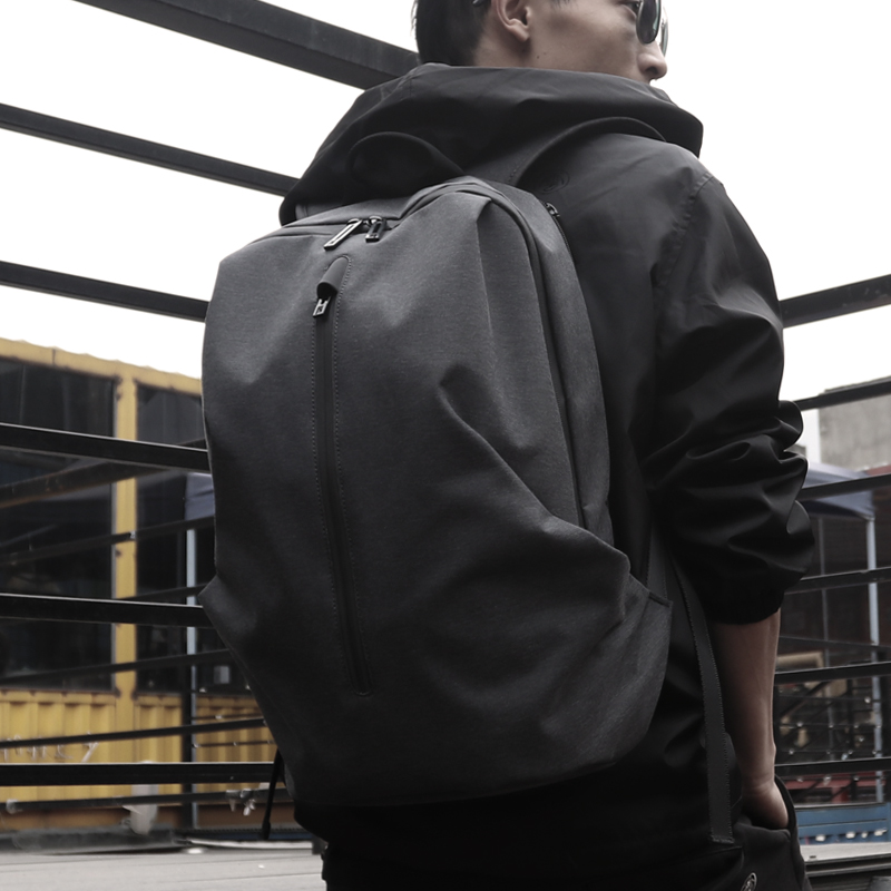 FYUZE Waterproof nylon Backpack for men 15.6 inch 17 computer rucksack Male cool backpacks Laptop Leisure Travel bag anti thief